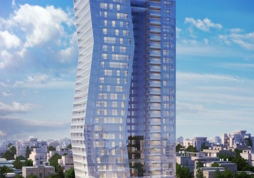 For sale, 4 rooms in the Arlozorov 17 tower