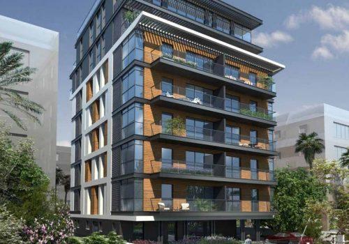 דירת גן בפרויקט חדש ליד כיכר המדינה