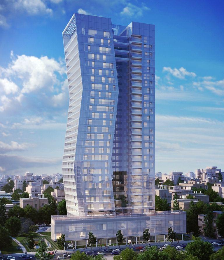 למכירה במגדל ארלוזורוב 17 – 4 חדרים יפייפיה!