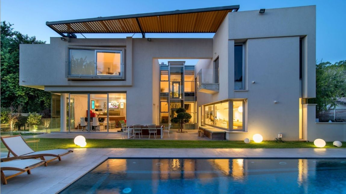 למכירה בית מודרני בהרצליה פיתוח